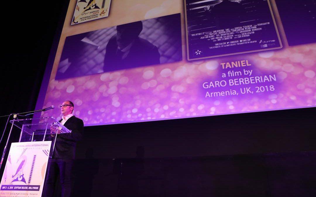 Best Short Film at ARPA International Film Festival